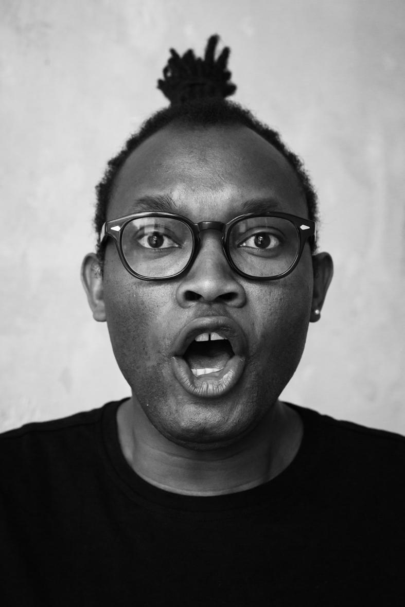 Portrait von Fiston Mwanza Mujila