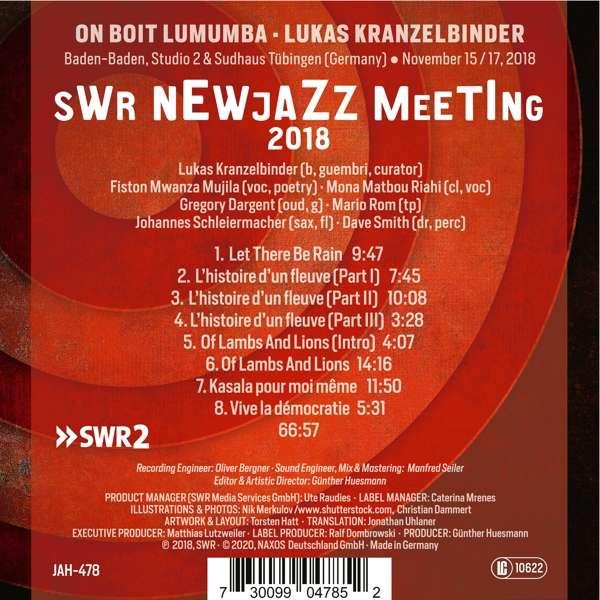 On Boit Lumumba CD Cover